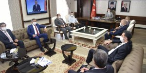 Cumhur İttifakı Belediye Başkanları Vali Aksoy'u Ziyaret Etti