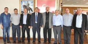 Esnaf Kefalet Yönetiminden Başkan Alıcık'a Ziyaret