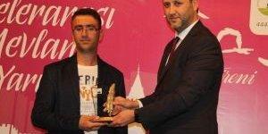 'Mevlana Şiir Yarışması'nda Dereceye Giren Gençler Ödüllendirildi
