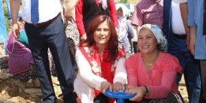 Başkan Çerçioğlu Karpuzlu'ya Çıkarma Yaptı