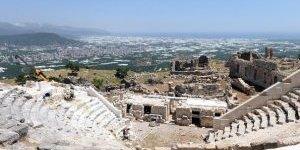 Rhodiapolis'te Restorasyon Çalışmaları Devam Ediyor