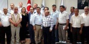 AYSO Üyeleri MHP'li Adayları Dinledi