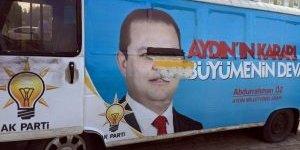 AK Parti Seçim Ofisi ve Araçlarına Saldırı