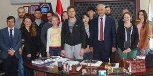 Yabancı Öğrenciler Orhaneli'nde