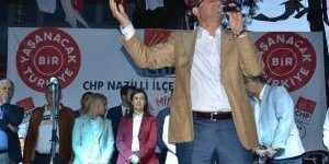 CHP'den Büyük Nazilli Mitingi