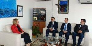 Kosova'da Türk Partisinden Büyükelçi Ozan'a Destek Ziyareti