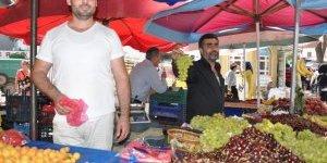 Sıcaklık ve Ramazan pazarı vurdu