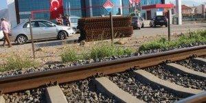 Tren Yolunda Kaza: 1 Yaralı