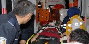 Aydın'da alkollü sürücü kaza yaptı: 1' i çocuk 3 kişi...