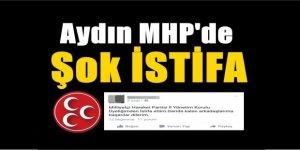 MHP'de Şok İstifa