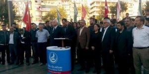 Aydınlı Ülkücüler İran'ı protesto etti