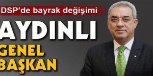 DSP'nin Yeni  Genel Başkanı Aydınlı..