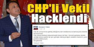 CHP'li Vekil Hacklendi