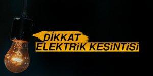 Bozdoğan'da Elektrik Kesintisi