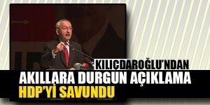Kılıçdaroğlu'ndan Akıllara Durgun Açıklama!