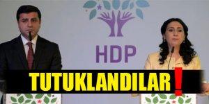 HDP Eşbaşkanları Demirtaş ve Yüksekdağ Tutuklandı