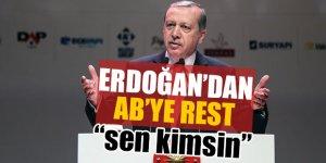 Erdoğan AB'ye tarih verdi!