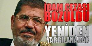 Mursi'nin Îdam Kararı Bozuldu
