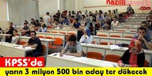 KPSS'de Yarın 3 Milyon 500 Bin Aday Ter Dökecek