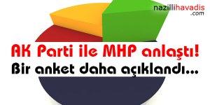 AK Parti ile MHP anlaştı! Bir anket daha açıklandı...