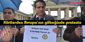 Kürtlerden Avrupa'nın göbeğinde protesto