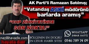 AK Parti İlçe Başkanı Büyükşehir'i Salladı !