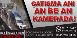 İşte İzmir'deki çatışma anı