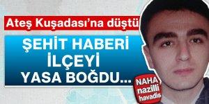 Şehit polis memuru Kuşadası'nı yasa boğdu