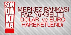 Merkez Bankası'nın faiz kararı dövizi etkiledi
