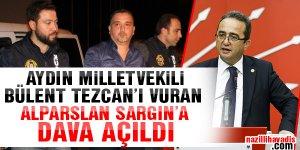 Bülent Tezcan'ı vuran Alparslan Sargın'a dava açıldı