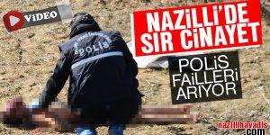 Nazilli'de sır cinayet!