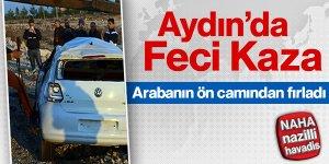 Aydın'da korkutan kaza!