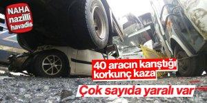 Korkunç trafik kazası