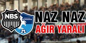 Nazilli Belediyespor evinde Erzurum'a mağlup oldu