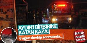 Aydın'da korkunç kaza!
