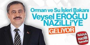 Veysel Eroğlu Nazilli'de