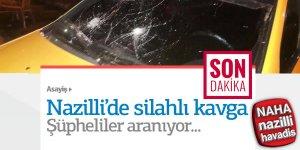 Nazilli'de silahlı çatışma;4 gözaltı