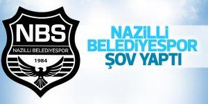 Nazilli Belediyespor Şov Yaptı