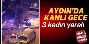 Aydın'da silahlı kavga: 3 yaralı