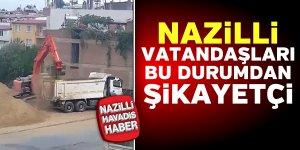 Nazilli'de vatandaşlar canından bezdi