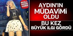 Aydın'da Aleyna Tilki coşkusu