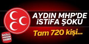 Aydın MHP'de istifa şoku