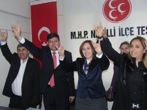 DENİZ DEPBOYLU, MHP'DEN ADAY ADAYI