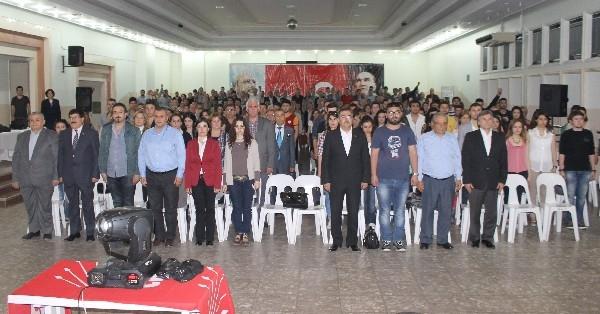 DEVRİM ŞEHİTLERİ NAZİLLİ'DE ANILDI 1