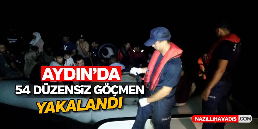 Aydın'da 54 düzensiz göçmen yakalandı