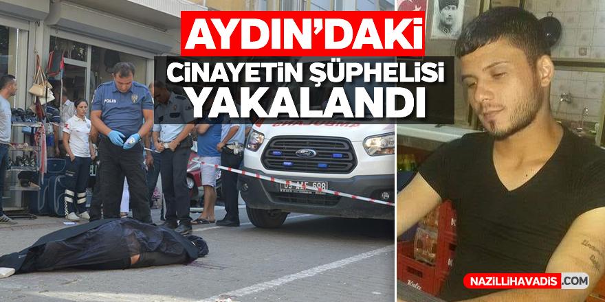 Aydın'daki cinayetin şüphelisi yakalandı