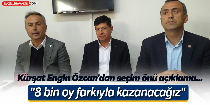 Kürşat Engin Özcan'dan Seçim Önü Açıklama!