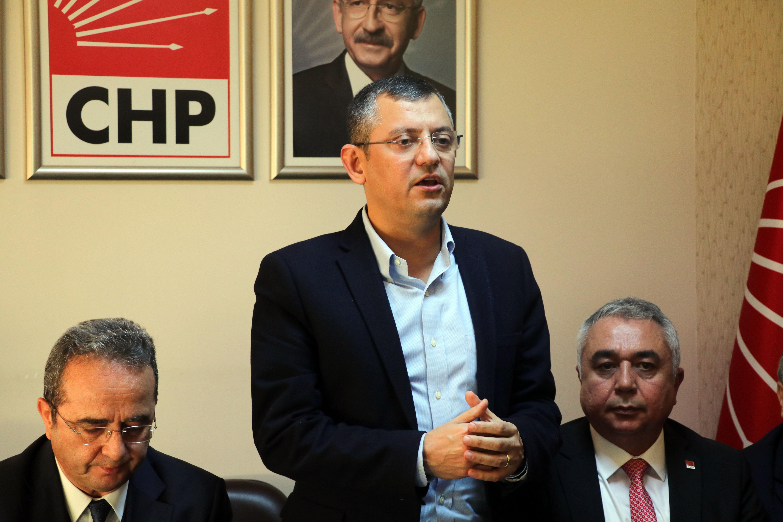 """CHP'li Özel: """"Türkiye'de gerçek sosyal adaleti sağlama hedefimiz var"""""""