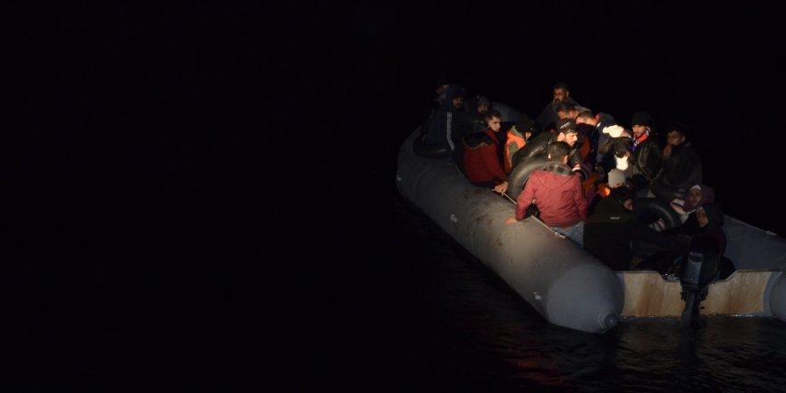 Aydın'da 41 düzensiz göçmen yakalandı