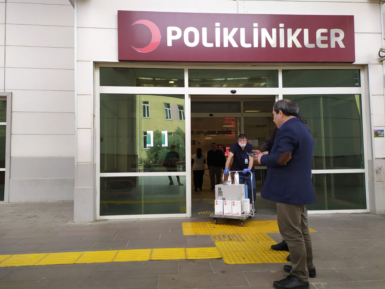 NAZİLLİ DEVLET HASTANESİ'NDE ÖNLEMLER ALINDI